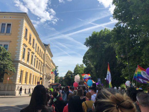 alcune immagine del Dolomiti Pride di ieri: una bella giornata!